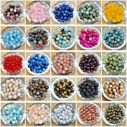 Kyпить Natural Gemstone Round Spacer Loose Beads 4mm 6mm 8mm 10m 12mm на еВаy.соm