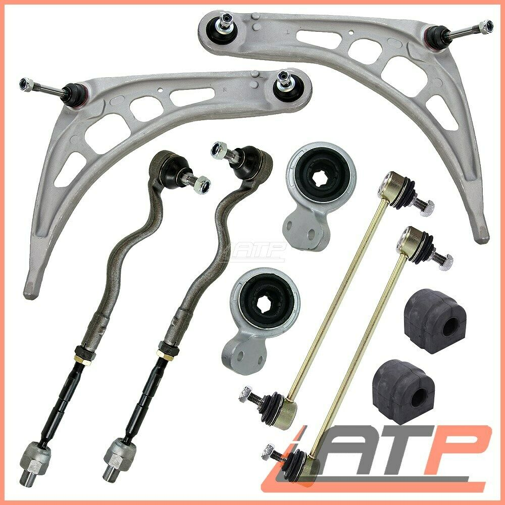 Suspension Track Control Arm Wishbone Kit Front 10 Part