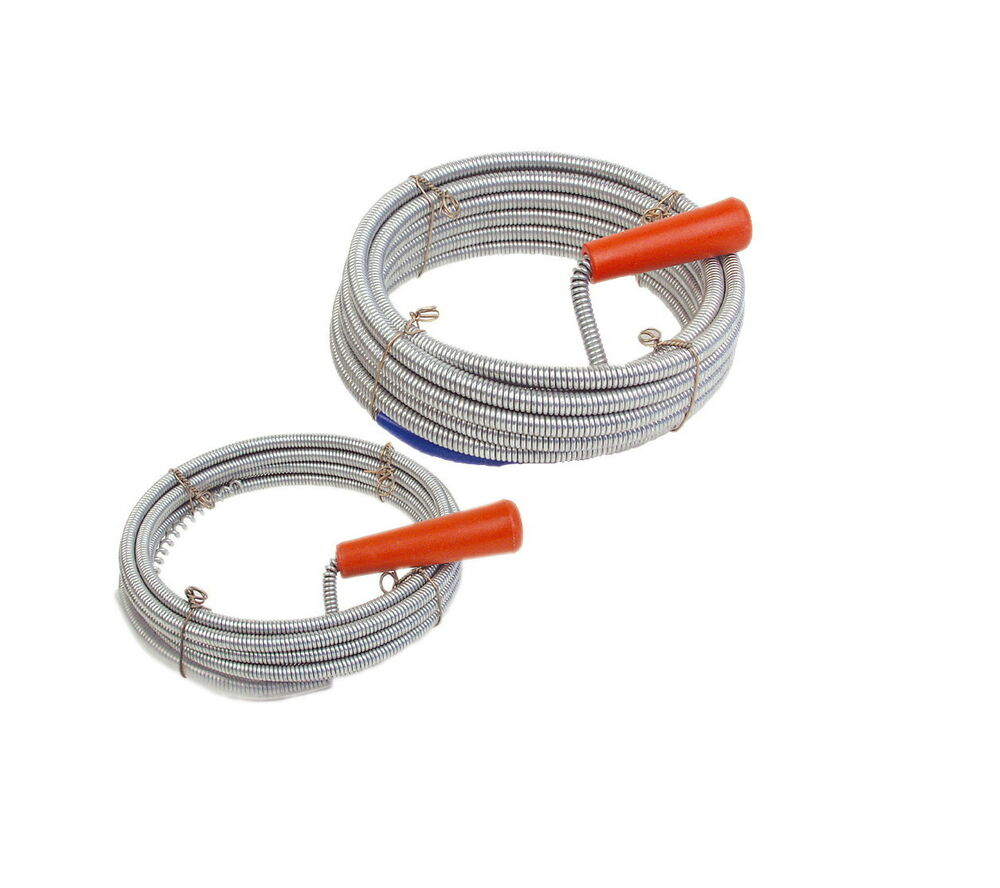 Mannesmann Flexible Spring Rod 10 Meter Drain Sink