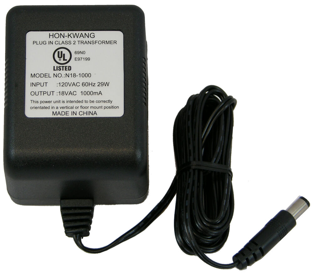 110 120 Volt Ac To 18 Volt Ac Output Class 2 Transformer