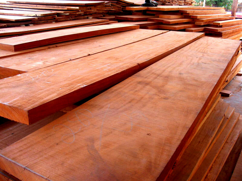 Board feet kiln dried african mahogany lumber wood