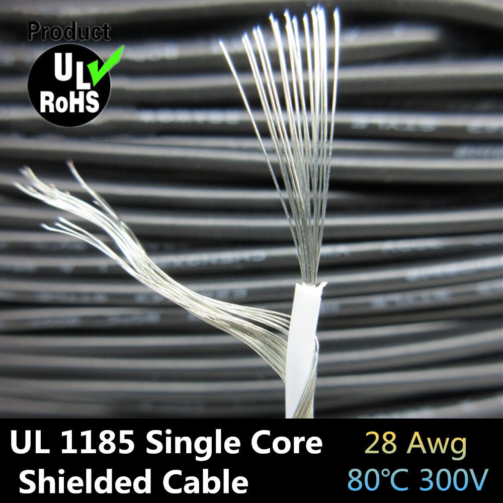 Ul1185 28awg Single Core Conductor Tinned Copper Sprial