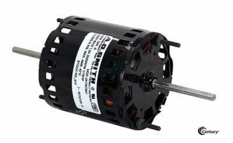634 1 15 hp 1600 rpm new ao smith electric motor ebay for 1 20 hp electric motor