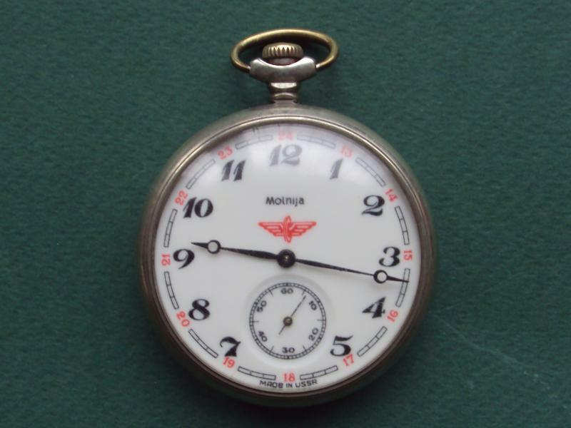 Molnija Pocket Ussr Soviet Watch Working Condition With The Most Up-To-Date Equipment And Techniques Pocket Watches