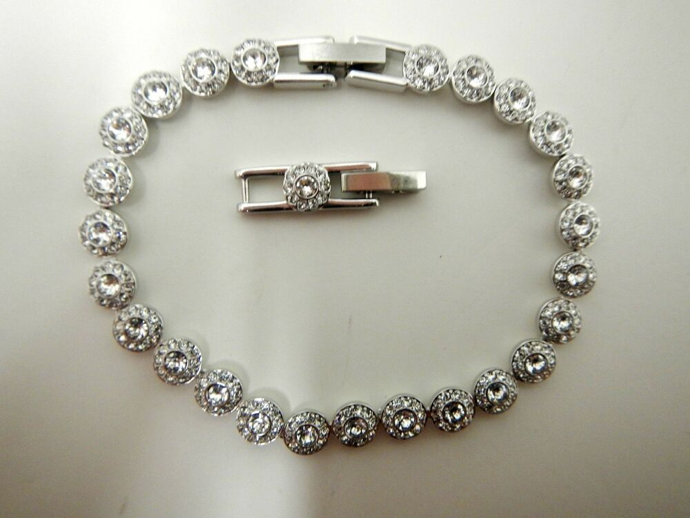angelic crystal bracelet 2014 swarovski jewelry 5071173 ebay. Black Bedroom Furniture Sets. Home Design Ideas
