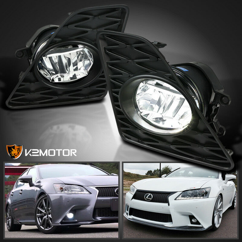 2014 Lexus Gs350: 2013-2015 Lexus GS350 F-Sport LED Clear Fog Lights Driving