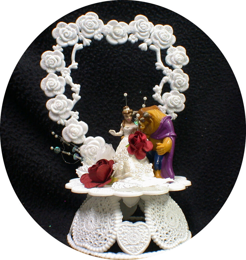 beauty and the beast wedding cake toppers and the beast wedding cake topper top fairytale 11251