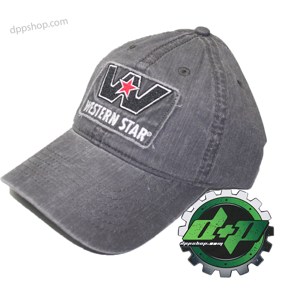 Tractor Shirts And Hats : Western star semi diesel trucker hat ball cap serious
