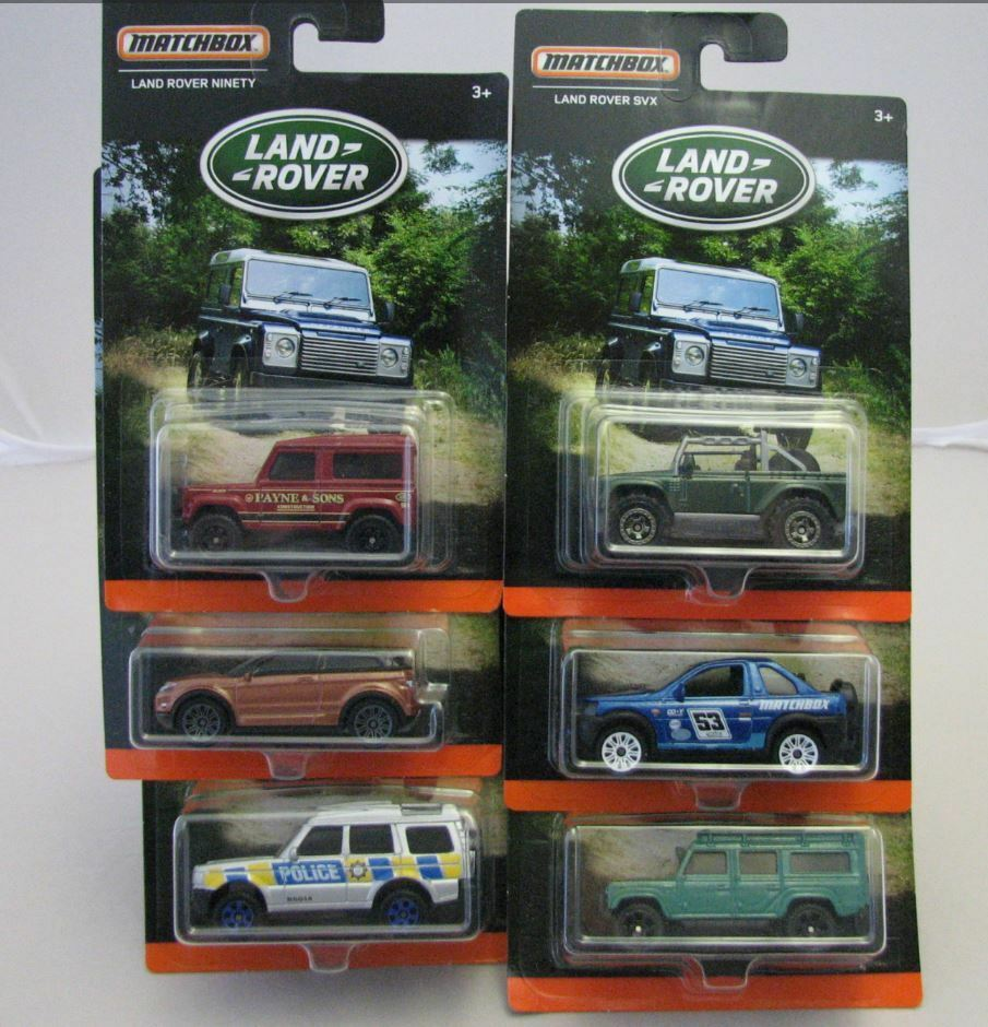 Matchbox Superfast MB75 Land Rover Set Of 6 Ninety Evoque