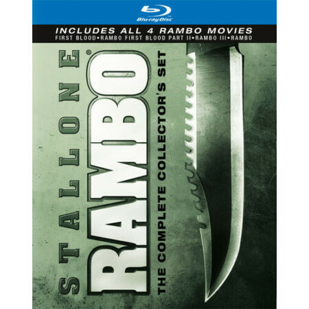 img-Rambo: The Complete Collector's Set [4 D (2010, REGION A Blu-ray New) BLU-RAY/WS