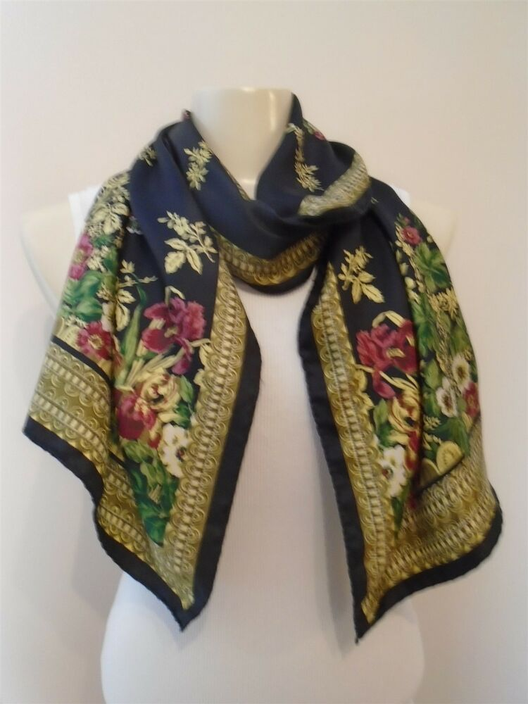 silk scarf smithsonian institution italy 15x62 quot