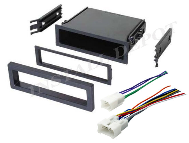 ★new toyota car stereo radio dash install mounting pocket ... toyota truck wiring harness 91 toyota truck wiring diagram