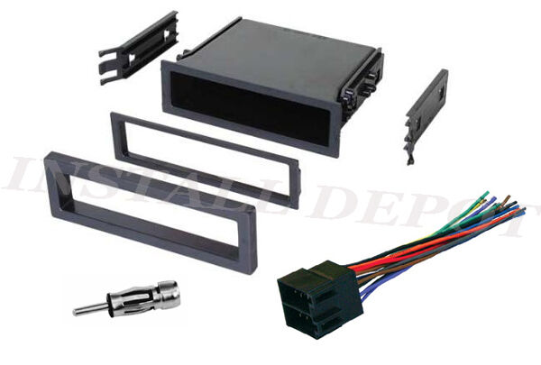 Wiring Harness And Install Kit : Saab complete radio install dash kit wiring