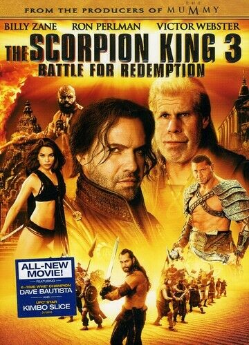 The Scorpion King 3: Battle for Redempti DVD
