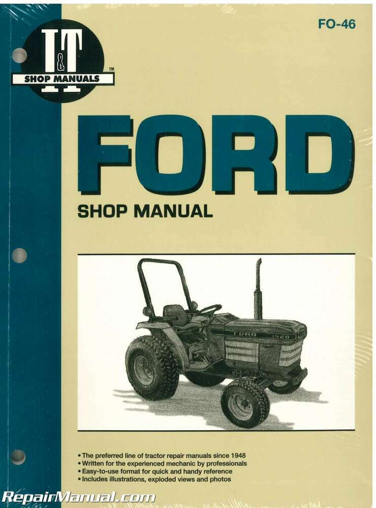 Ford New Holland 1120 1220 1320 1520 1720 1920 2120 Tractor Manual   Fo