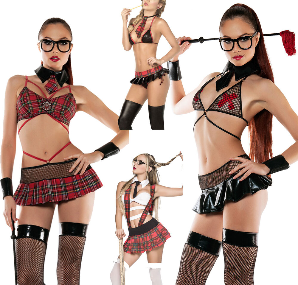 Womens school girl halloween costumes-9184