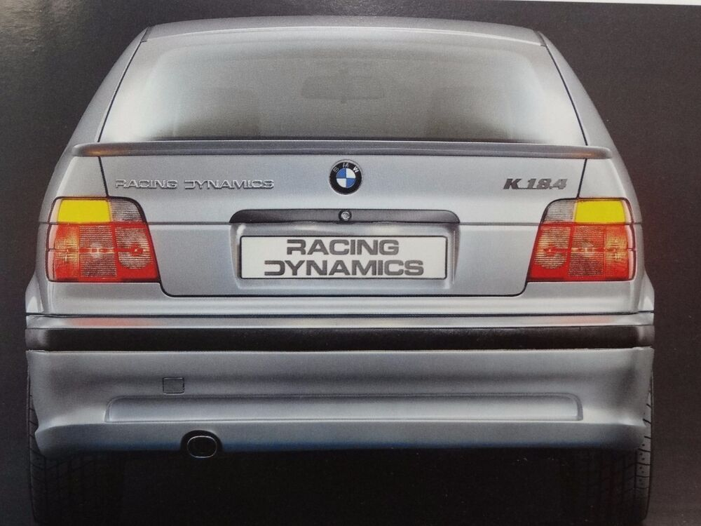 Racing Dynamics Bmw E36 Compact Genuine Rear Bumper
