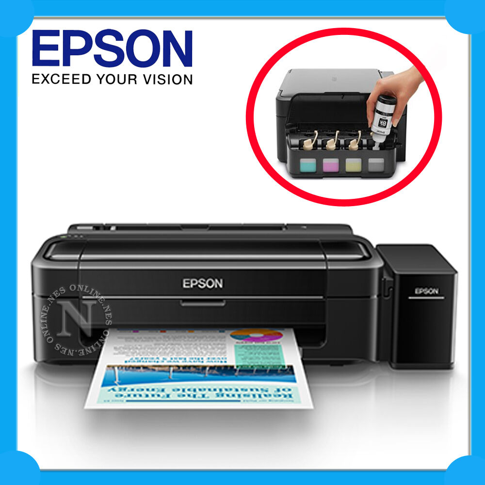 Epson L313 Refillable Ink Tank System Single Function