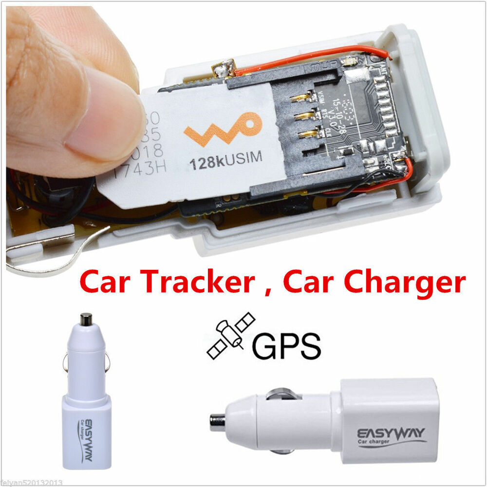 real time gps tracker gsm gprs system car charger tracking. Black Bedroom Furniture Sets. Home Design Ideas