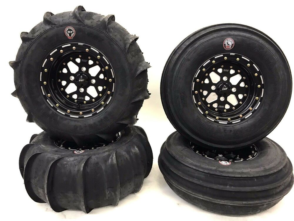 Dwt 28 Quot Gmz Beadlock Sand Stripper Dune Paddle Tires Front