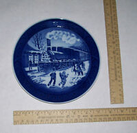 1993 CHRISTMAS GUESTS - plate - ROYAL COPENHAGEN