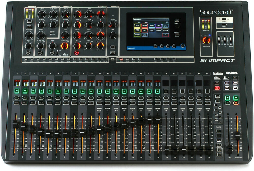 new soundcraft si impact digital mixer auth dealer make offer best deal on ebay ebay. Black Bedroom Furniture Sets. Home Design Ideas
