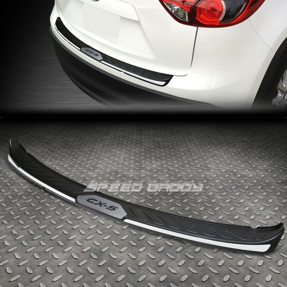 For 13 Rear Bumper Protector Cover Plate