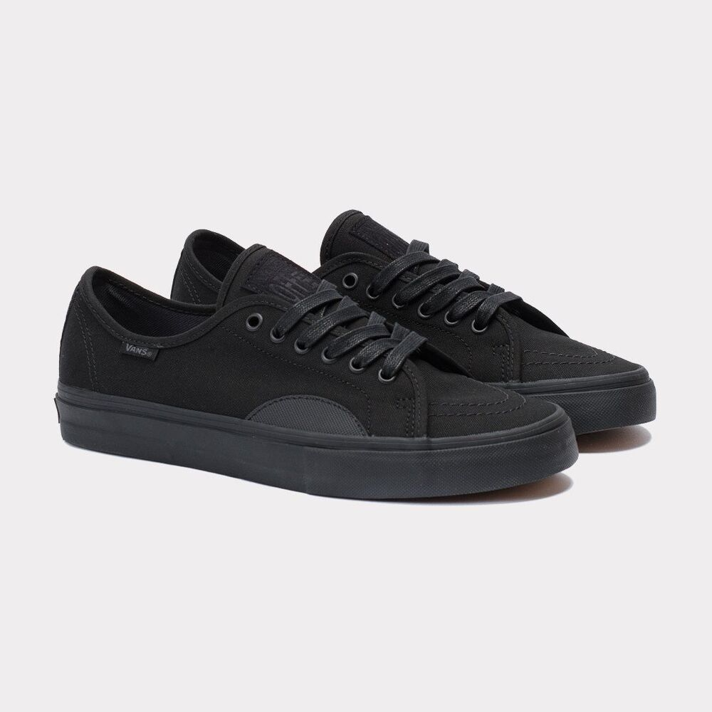 9d0bb0874e Details about VANS AV CLASSICS DURACAP BLACK SKATE SHOES US sz MENS 7 SK8  NEW ERA VNXB4IOM
