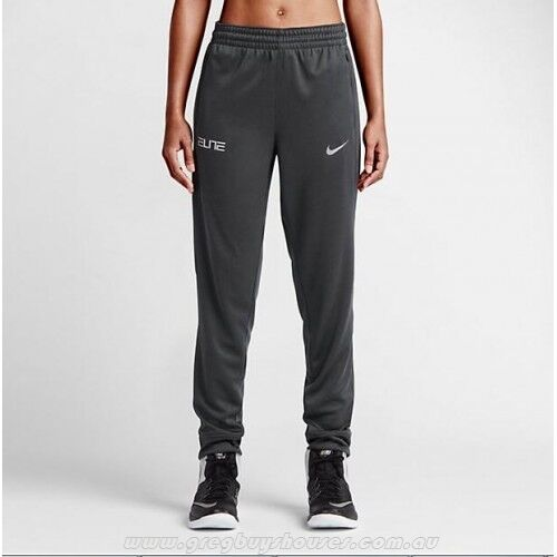 25f5f3d148fc Details about 810509-060 New with tag Nike women Elite cuffed basketball  pant  70 Dark grey