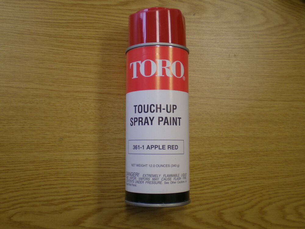 New Oem Toro Touch Up 361 1 Apple Red Spray Paint Pre 1990 421 521 Snowblower Ebay