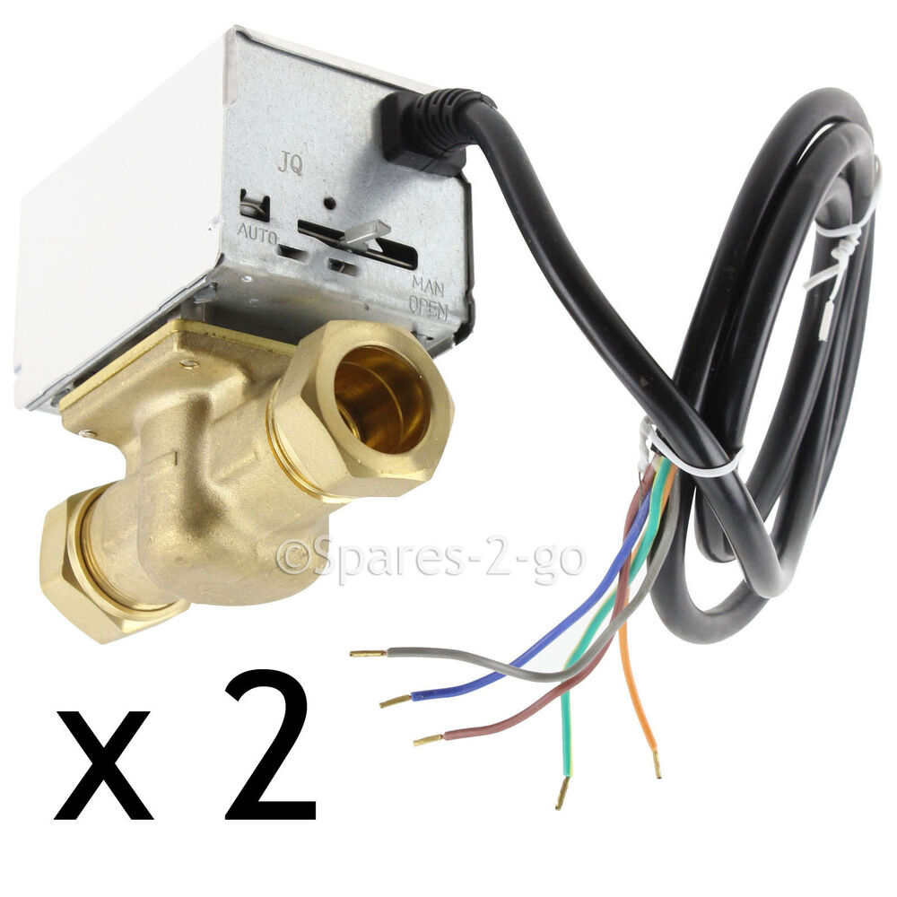 2 Tower Val222mv 22mm 2 Port Motorised Zone Valve 5 Wire