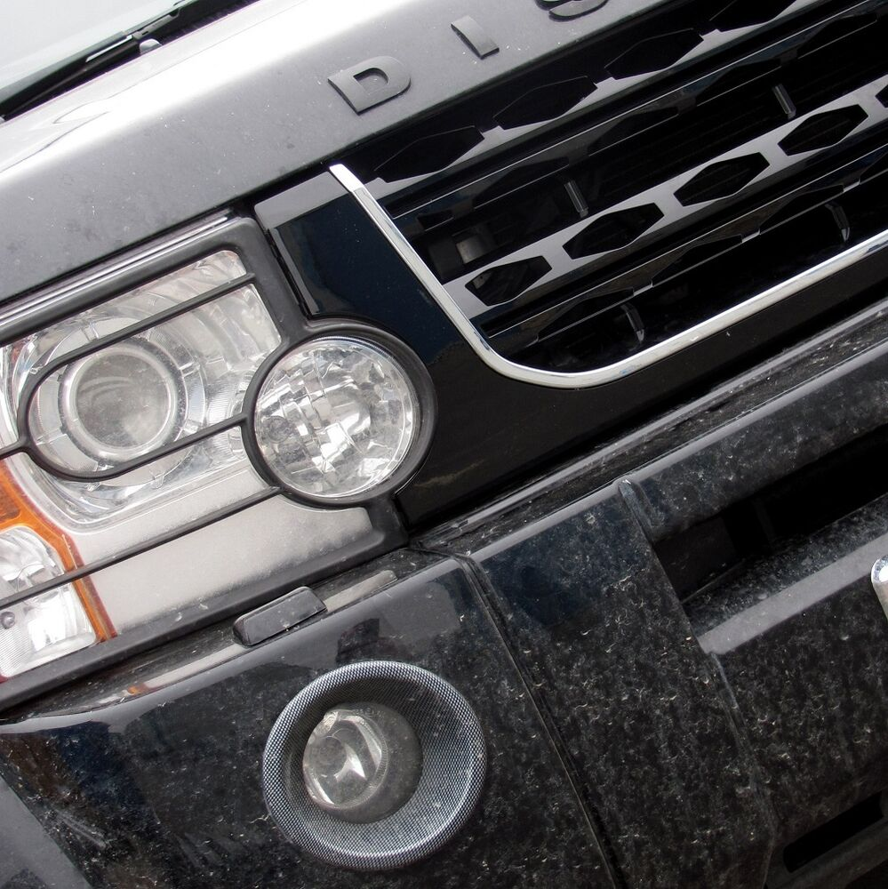 2012 Land Rover Discovery 4 For Sale: Black+Chrome Disco 4 2014 Facelift Style Front Grille For