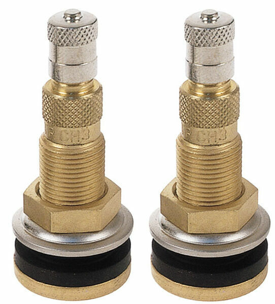 Tractor Valve Stems : Tractor air liquid water tubeless tire brass valve stems