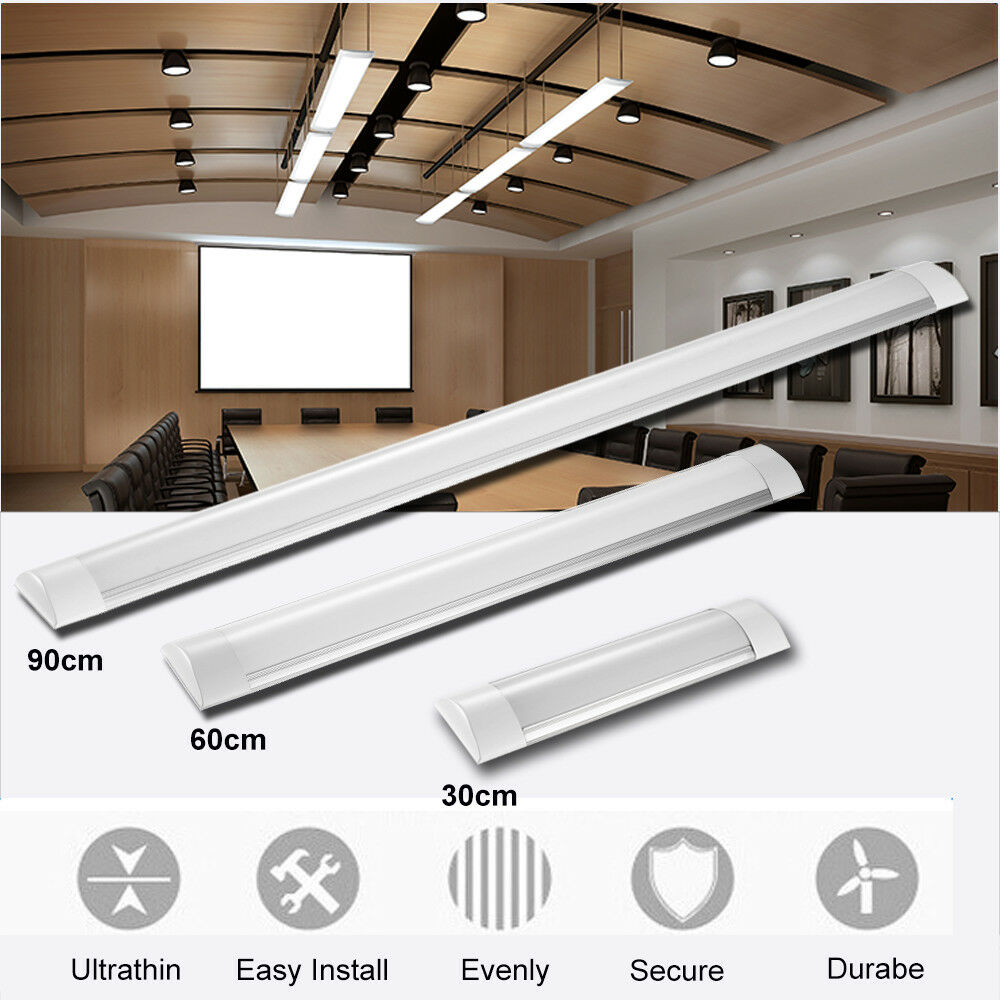 Tri-proof LED Batten Linear Tube Light Slimline Ceiling