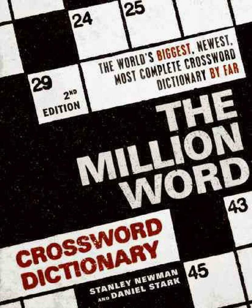 Ebook pdf the million word crossword dictionary 2nd edition.