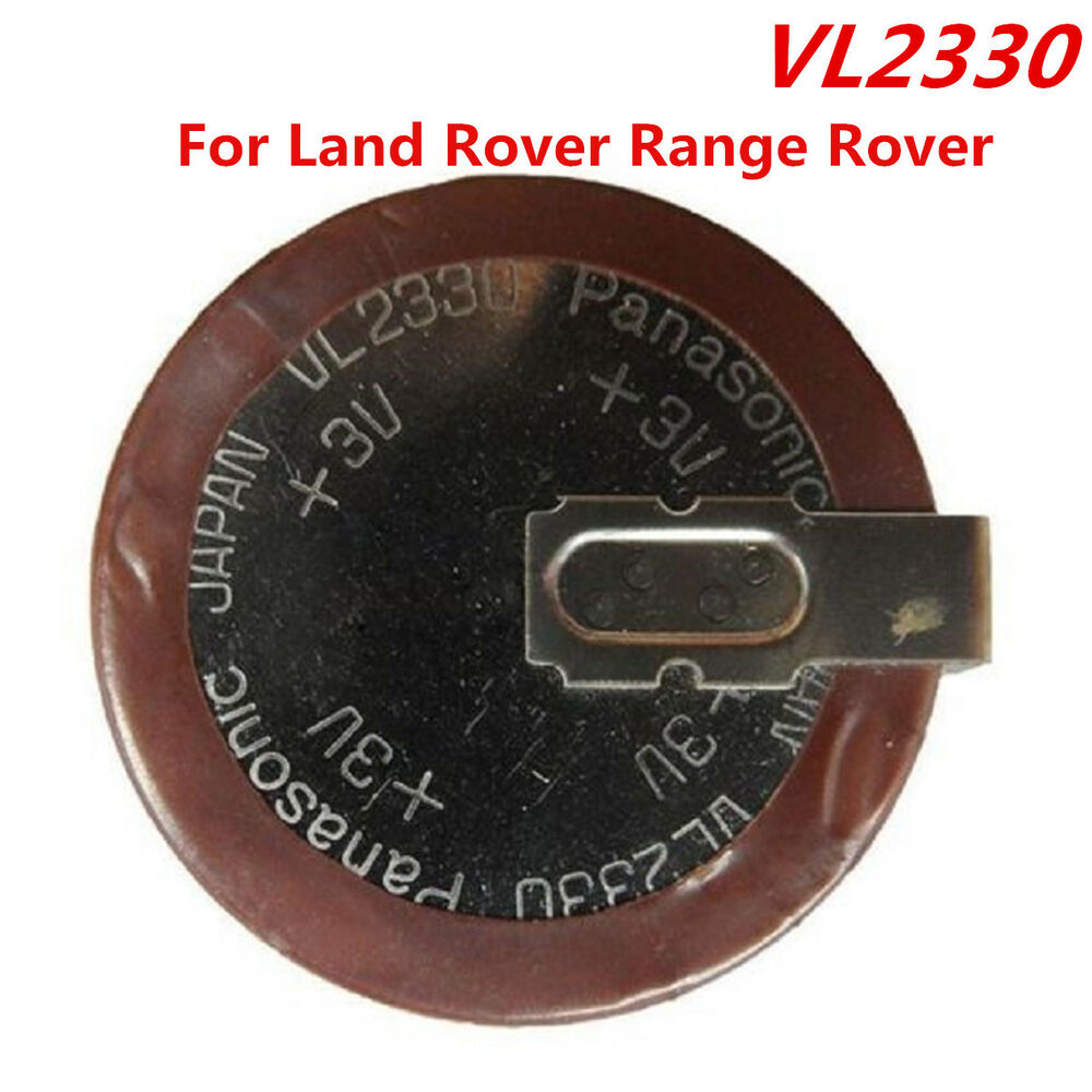 1pcs New Original VL2330 Rechargeable Key Fob Battery For