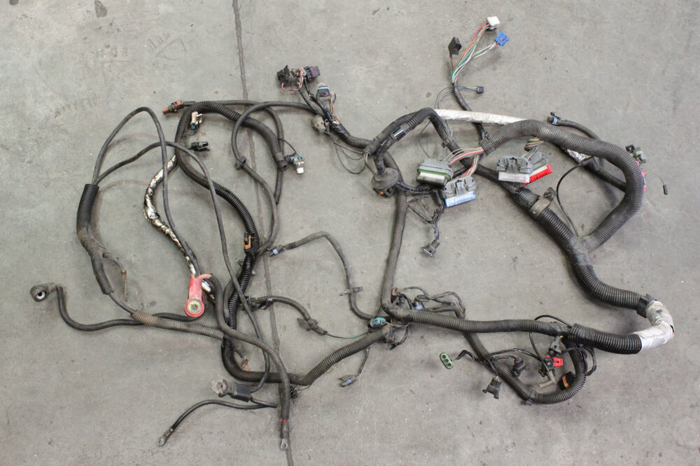 lt1 wiring harness 1993 camaro firebird lt1 engine wiring harness used oem