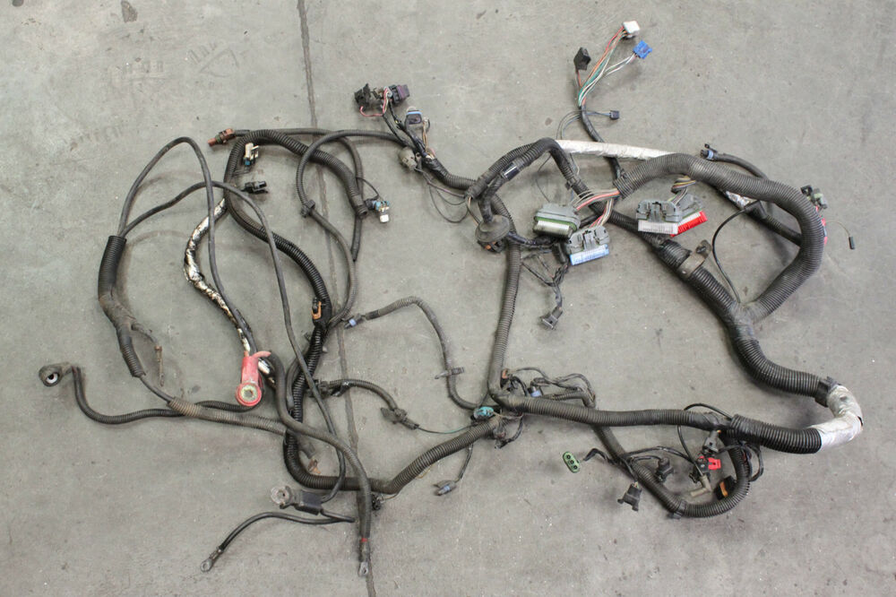94 97 Camaro Firebird Lt1 Engine Wiring Harness Used Oem