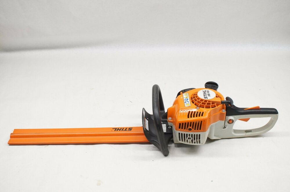stihl hs 45 hs45 21 gas powered hedge trimmer w cover ebay. Black Bedroom Furniture Sets. Home Design Ideas