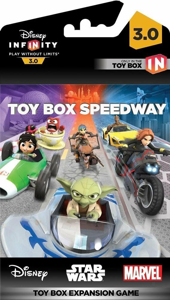 Disney Games For Ps4 : Disney infinity toy box speedway a expansion