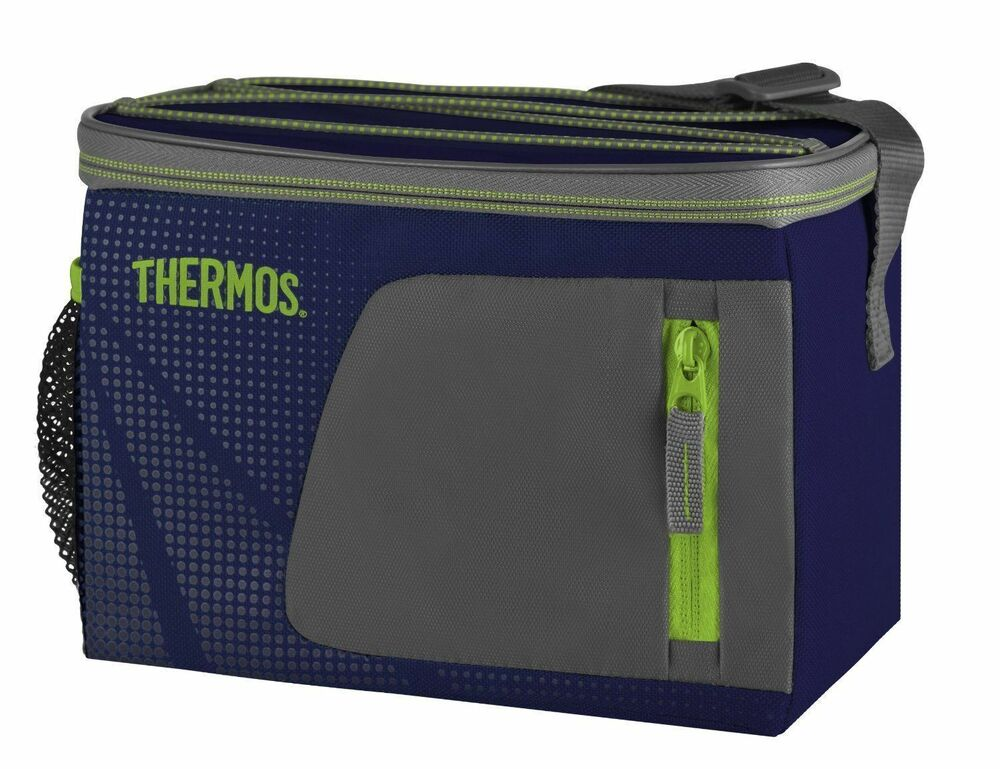 thermos radiance 6 can 330ml 4 litre insulated cool. Black Bedroom Furniture Sets. Home Design Ideas