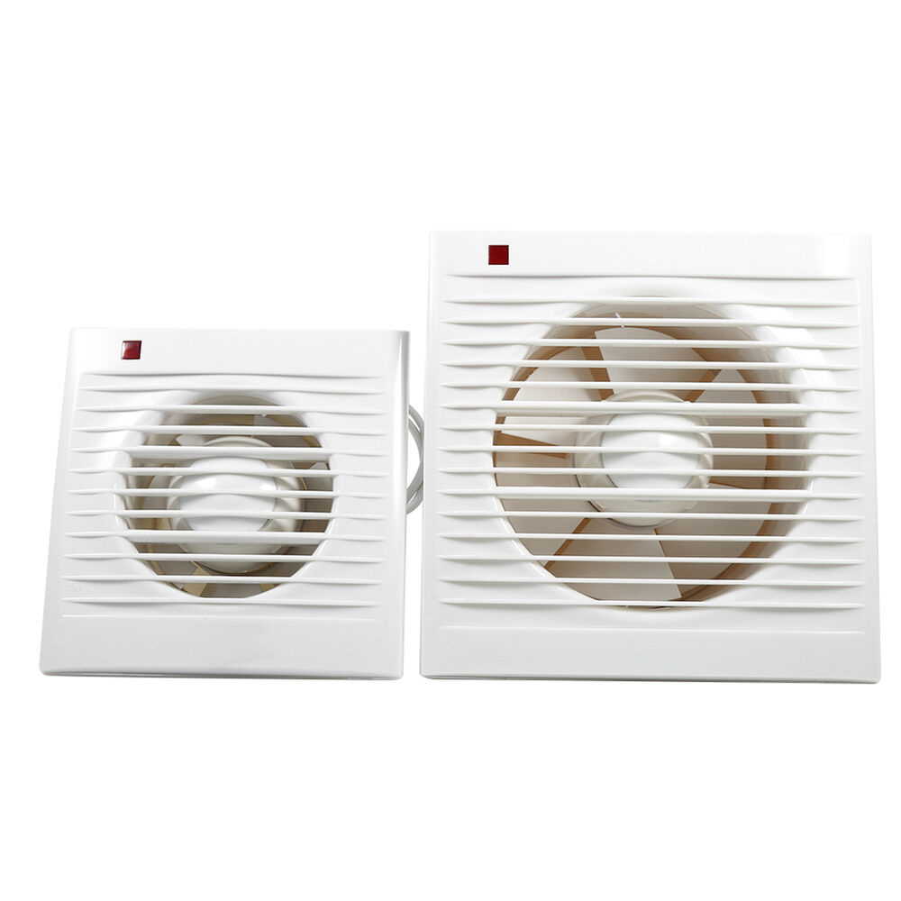 Wall Mounted Extractor Fan : Wall mounted quot ventilation extractor exhaust fan for