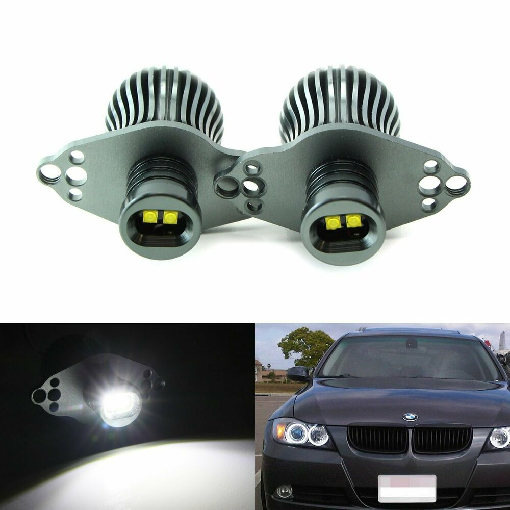20w cree led bmw angel eyes ring marker bulbs for 2006 2012 e90 e91 3