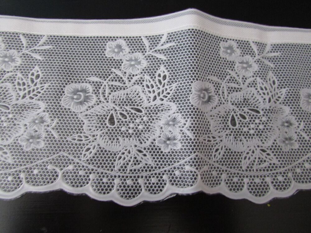 New Lace Shelf Edge Edging Liner Vinyl Pre Adhesive Easy