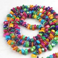 1string 110867 Multicolor Loose Irregular Shell Beads Fit Jewelry Making