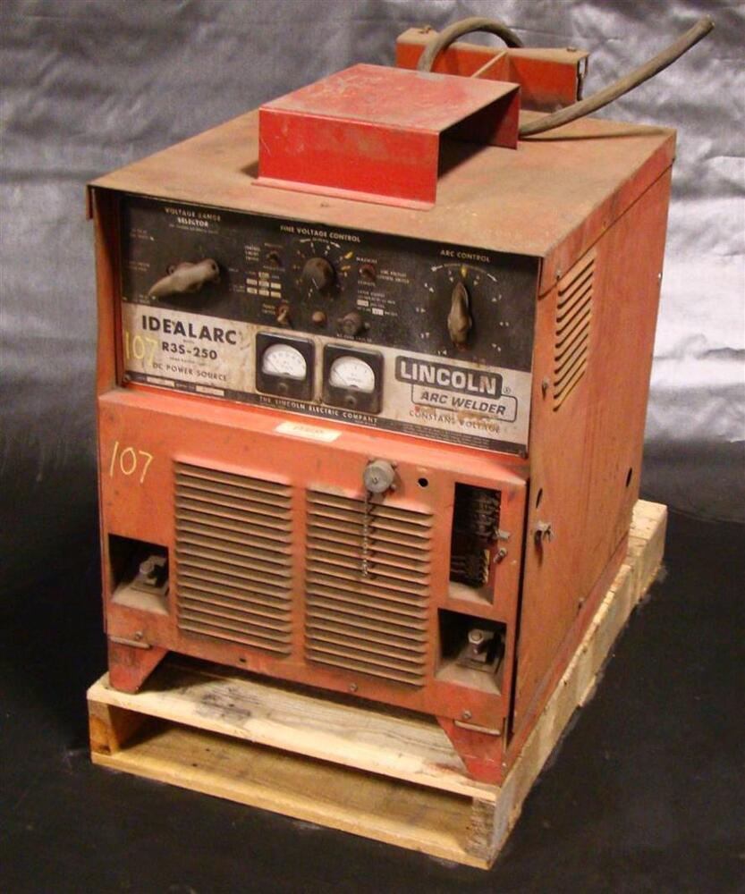 Lincoln Idealarc Mig Welder 3 Phase R3s