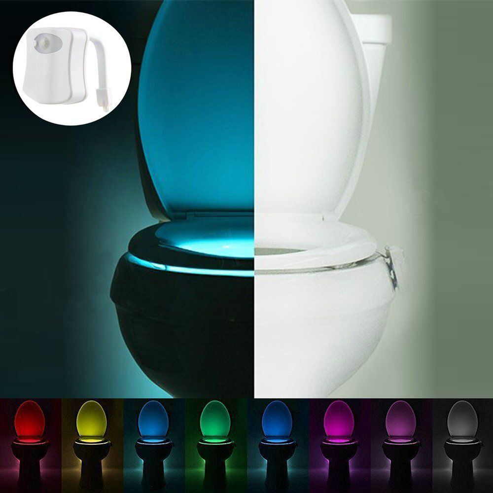 colour changing lights for bathroom led toilet bathroom light motion sensor activate 22962