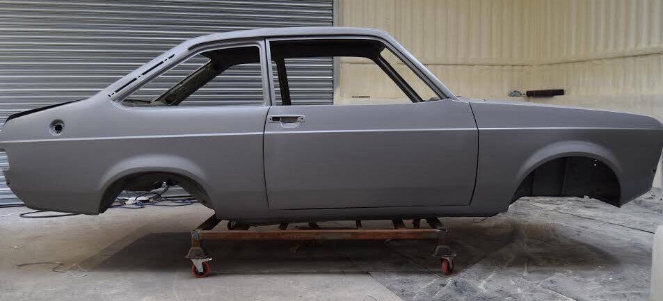 Brand New Manufactured Complete Escort Mk2 Bodyshell