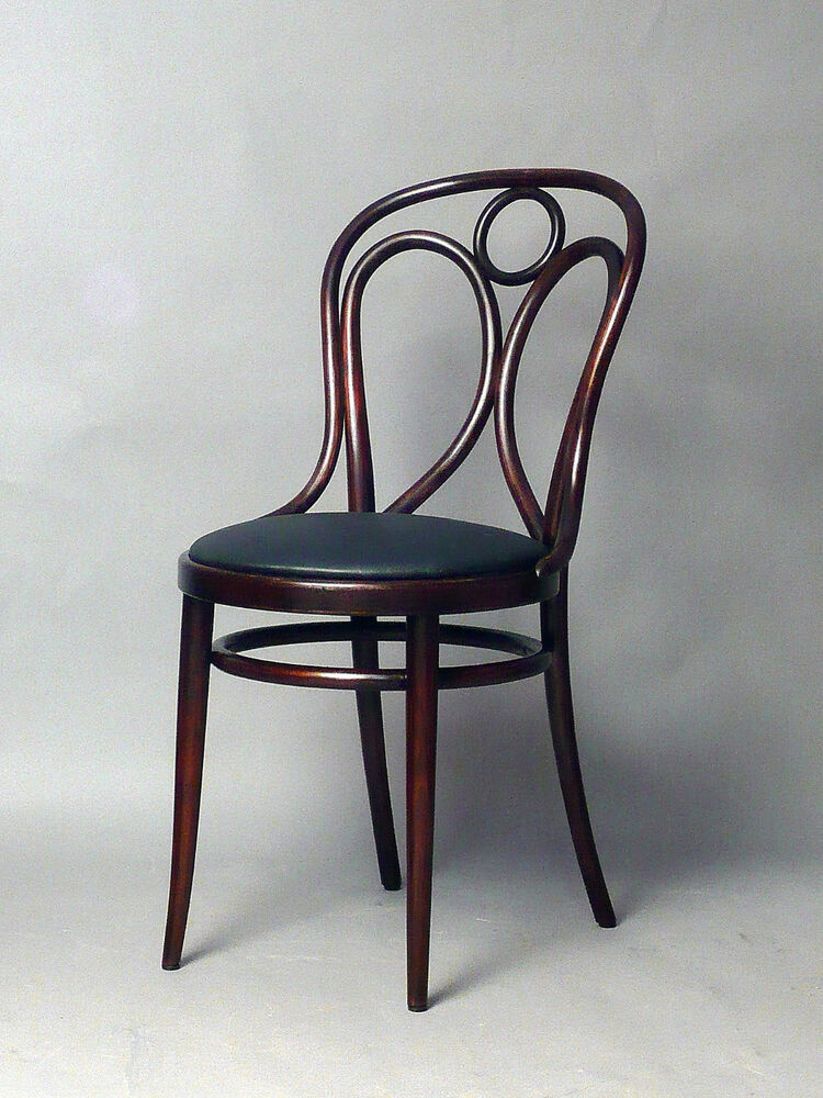 Thonet stuhl no 19 jugendstil sessel leder ebay for Stuhl sessel leder
