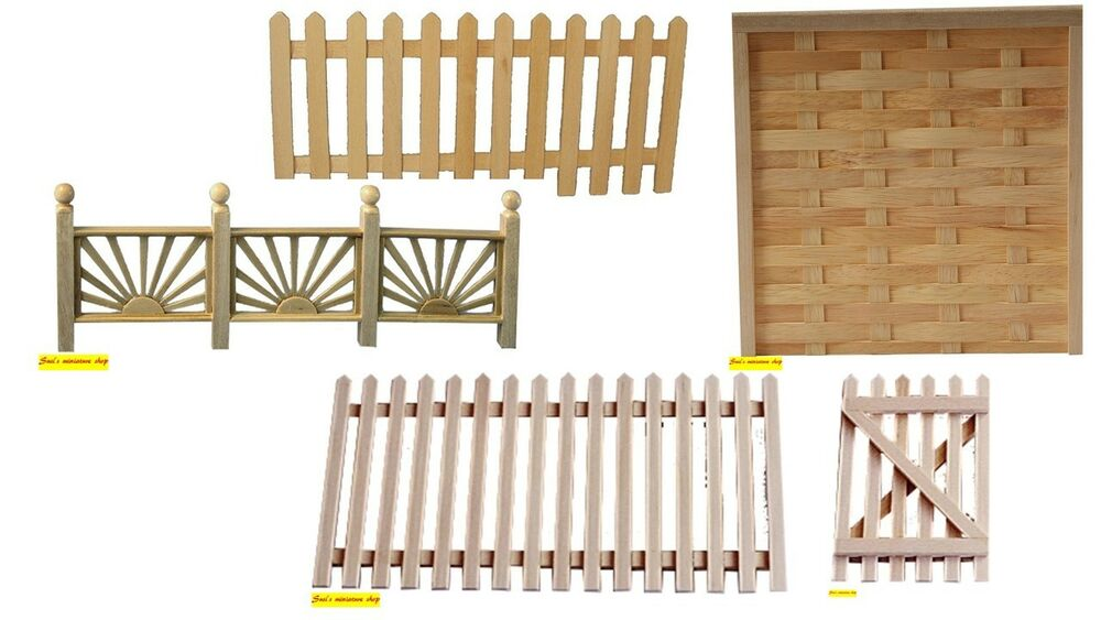 1:12 scale dolls house miniature selection of garden ...